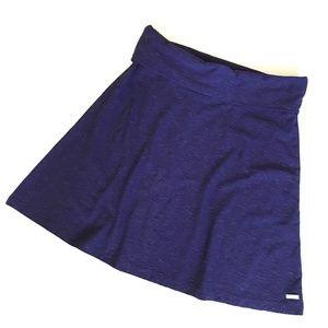 Columbia Purple A-Line Cotton Stretch Skirt - M